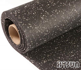Gym rubber flooring roll HVSUN-401