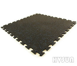 Colorful gym rubber tile HVSUN-111