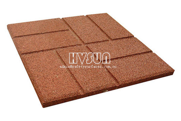 Outdoor Rubber Paver HVSUN-321