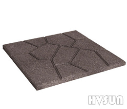Flag face rubber paver HVSUN-322
