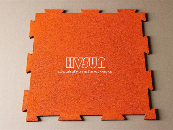 Pure color interlock rubber mat HVSUN-121