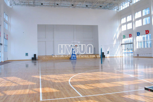 PVC sports court commercial flooring rolls HVSUN-791