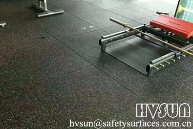Compound Gym Rubber Flooring  HVSUN-323